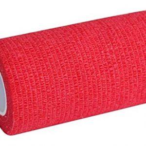 bende adesive 12 rotoli 5 cm x 4,5 m benda autoadesiva ed elastica arancione nilo